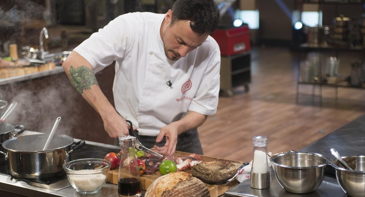 Willian fez polvo em um dos pratos principais na final do MasterChef