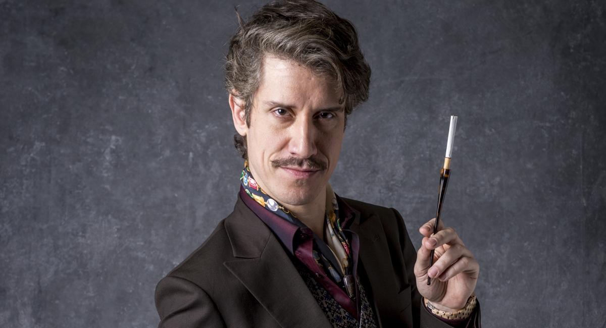 Theodoro Cochrane está no seu melhor momento na Globo como Adamastor