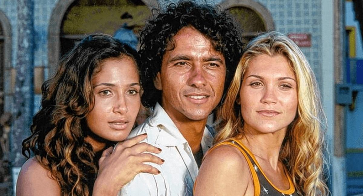 Camila Pitanga, Marcos Palmeira e Flávia Alessandra em Porto dos Milagres