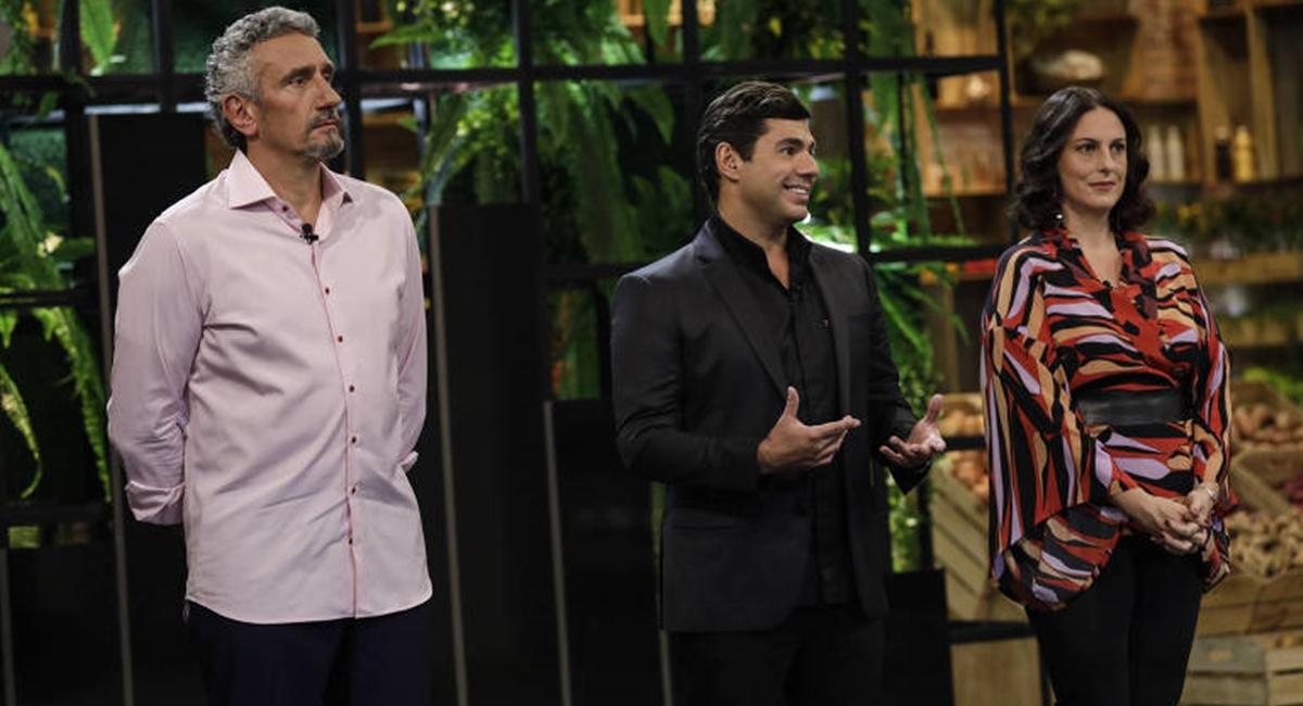 Felipe Bronze no reality show Top Chef