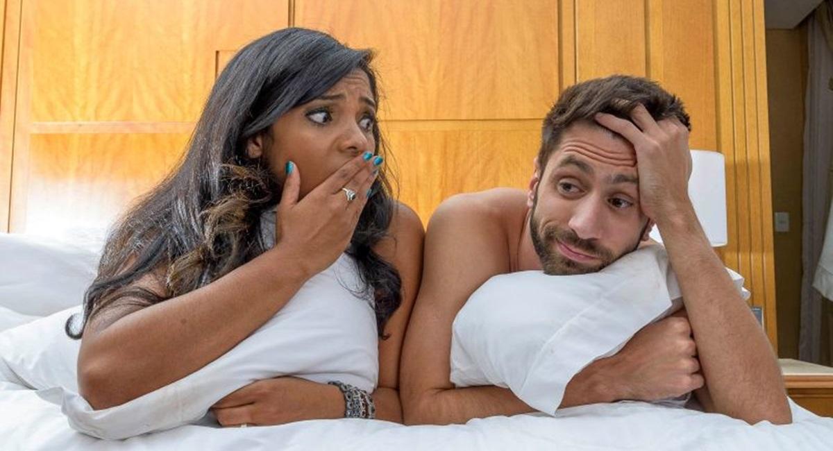 Bernardo Felinto em cartaz na peça Tudo sobre nossa vida sexual.
