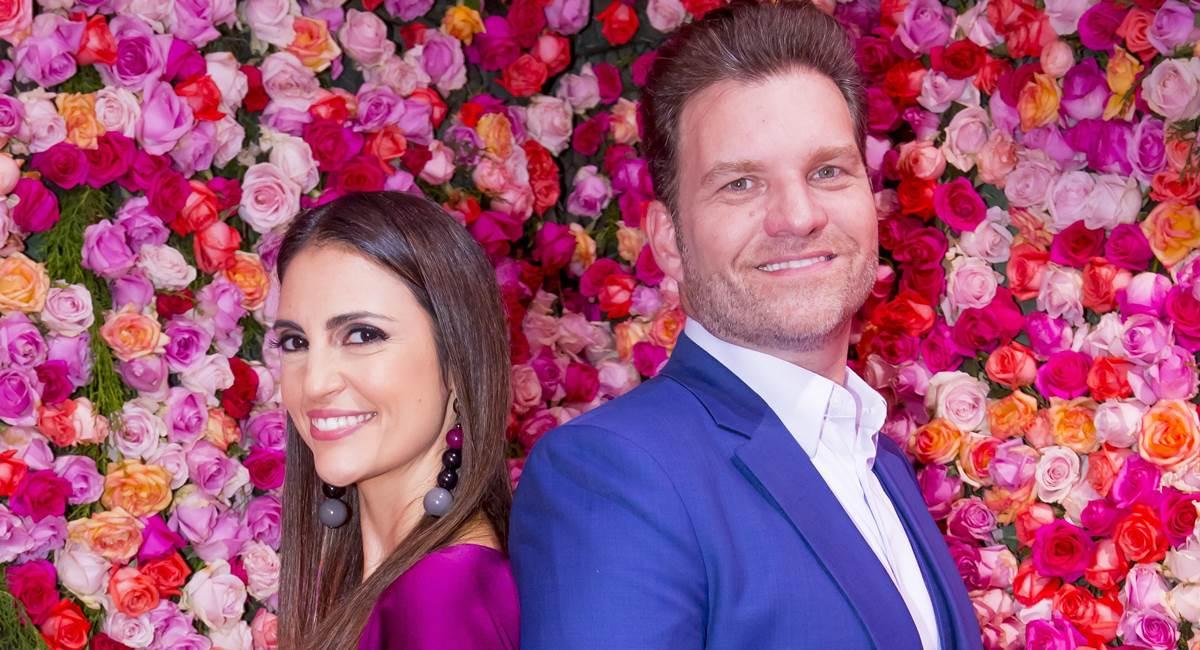 Cris Flores e Carlos Bertolazzi