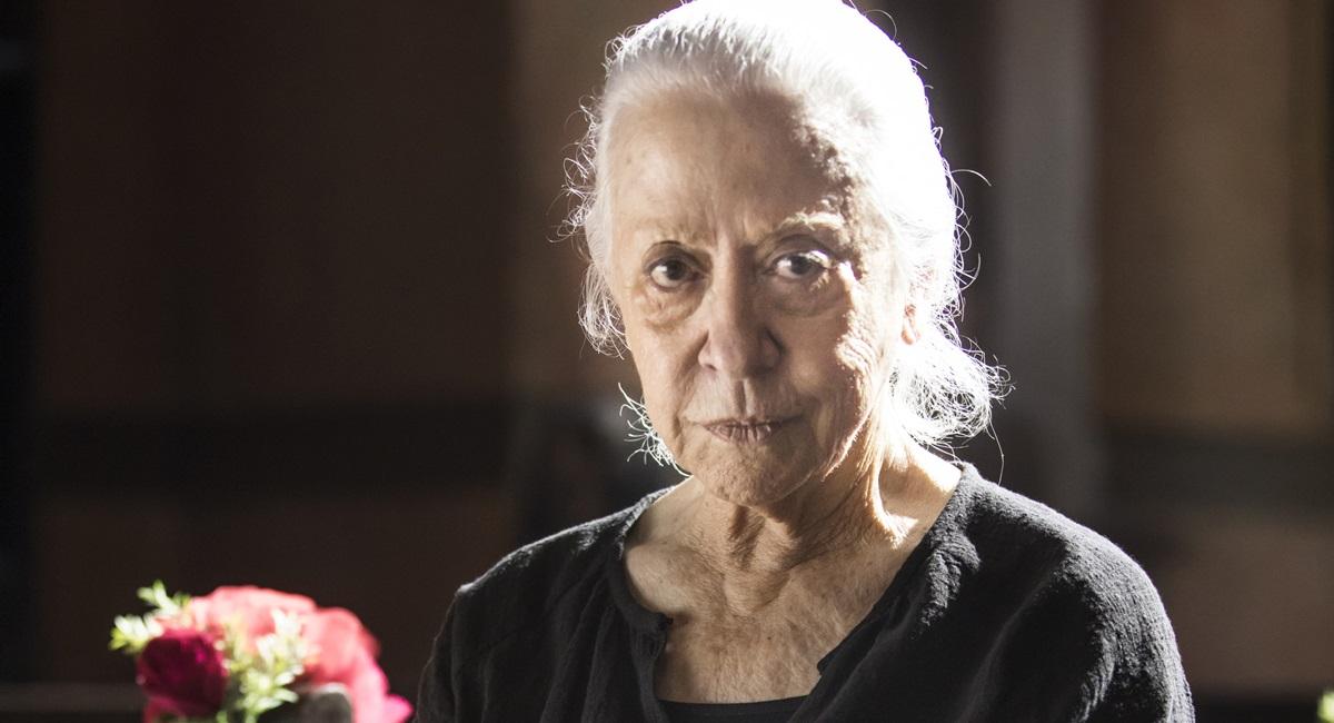 Fernanda Montenegro esteve na primeira fase de A dona do pedaço