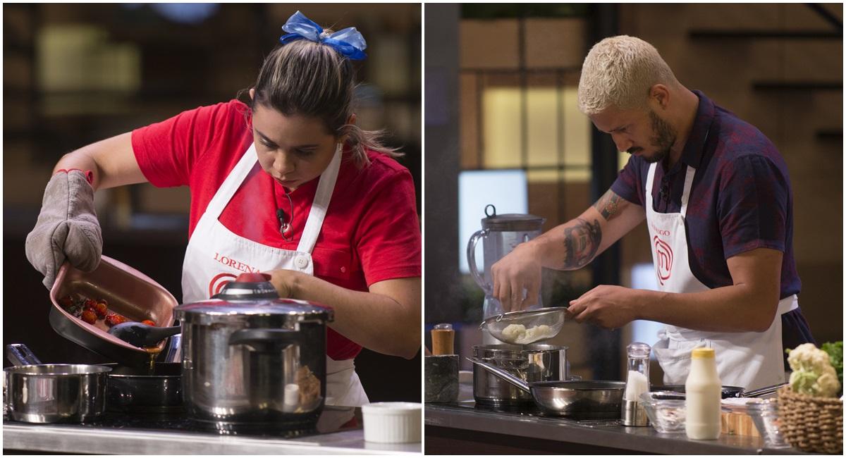 Lorena e Rodrigo cozinham no MasterChef