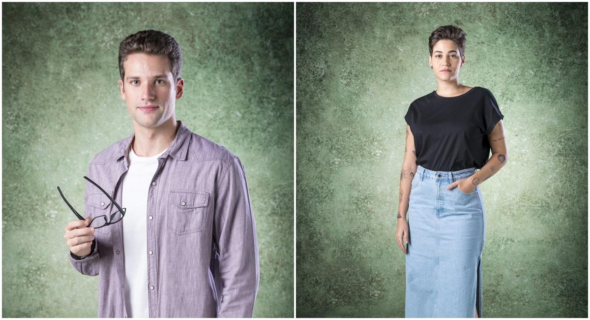 Felipe e Thaissa, personagens da novela Bom Sucesso