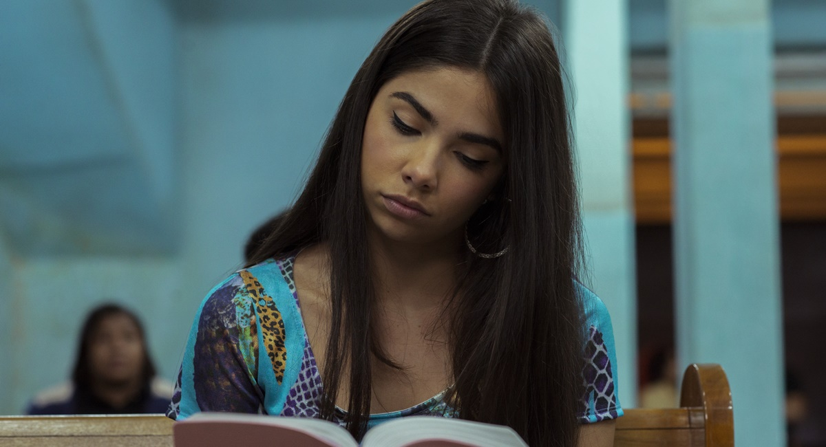 Bruna Mascarenhas como Rita na série Sintonia