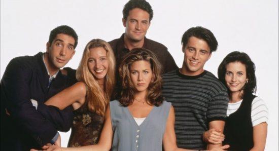 Elenco da série Friends.
