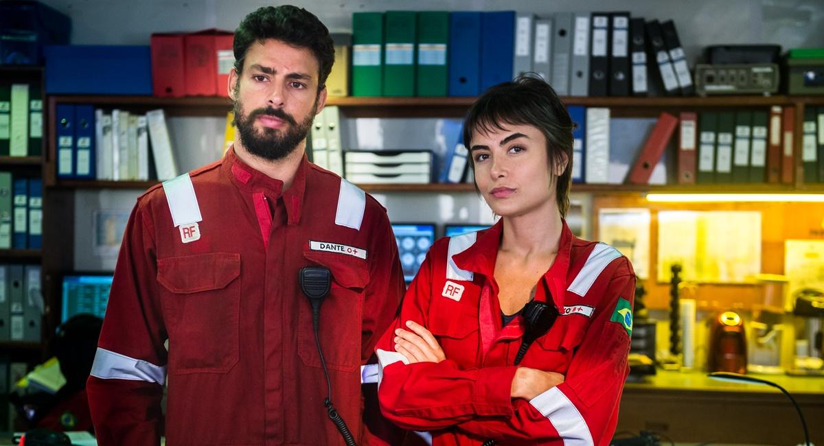 Cauã Reymond e Maria Casadevall na segunda temporada de Ilha de ferro