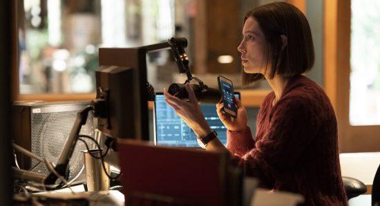 Atriz Jessica Biel em cena da série Limetown
