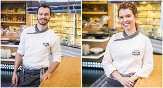 Lui Veronese e Lira Müller no Mestre do sabor
