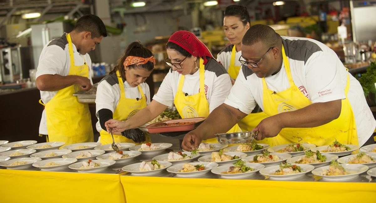 O time amarelo cozinha no MasterChef Brasil