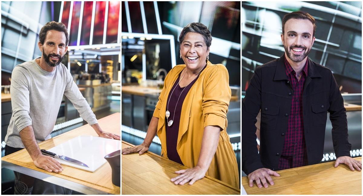 José Avillez, Kátia Barbosa e Leo Paixão, jurados de Mestre do sabor