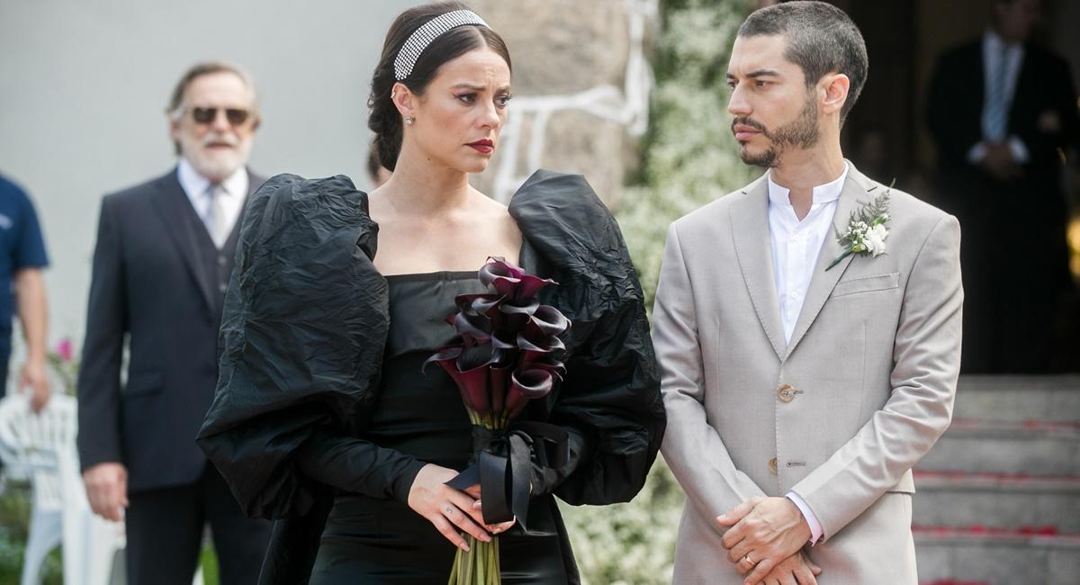 Casamento de Vivi e Camilo em A dona do pedaço