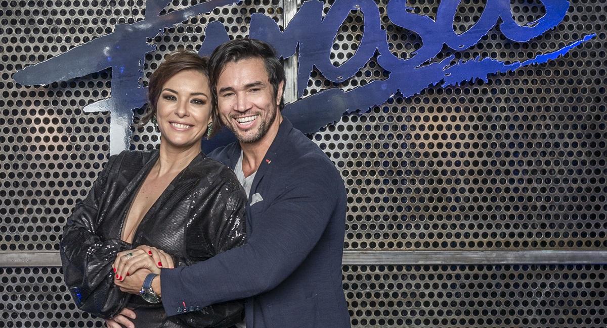 Regiane Alves e Reginaldo Sama disputam a Dança dos famosos