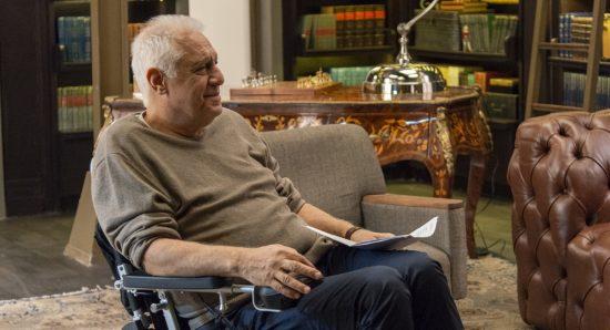 Antonio Fagundes como Alberto na novela Bom Sucesso