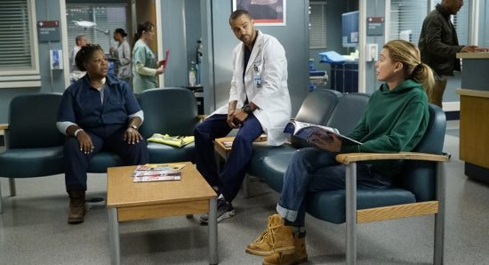 Cena de Grey's Anatomy