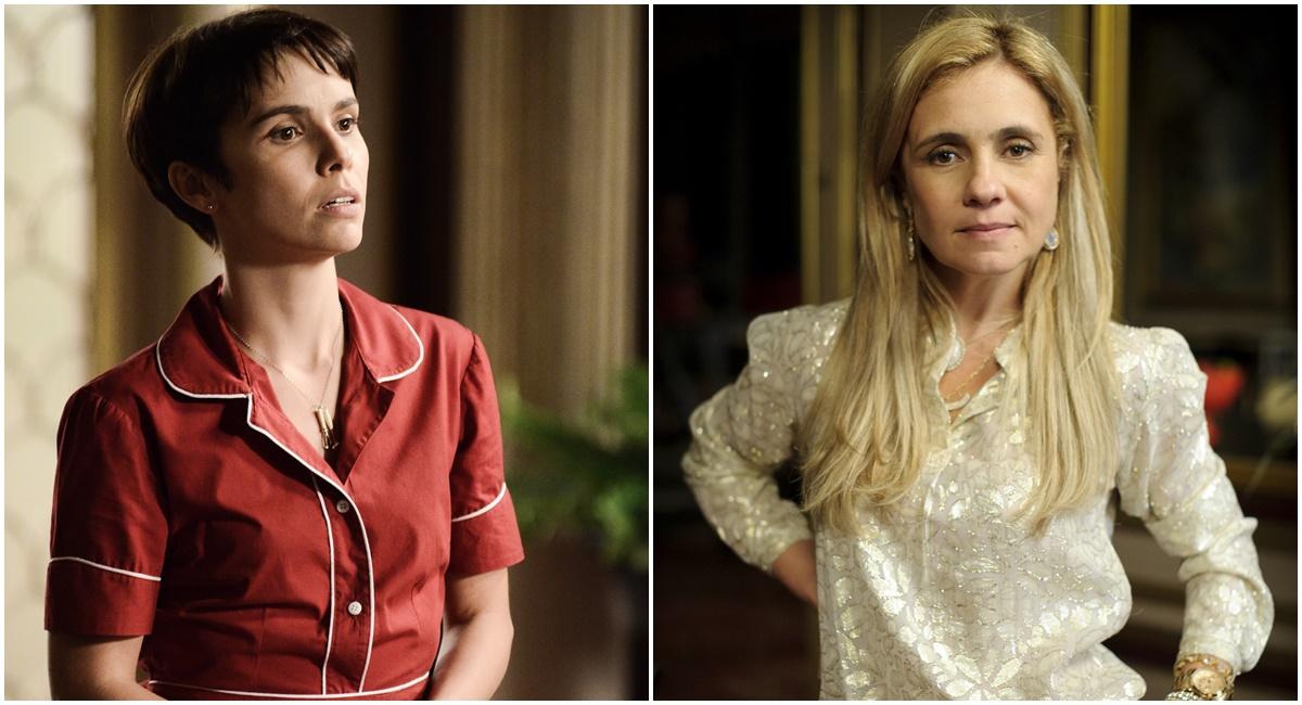 Crédito: Globo/Divulgação. Débora Falabella e Adriana Esteves brilharam em Avenida Brasil