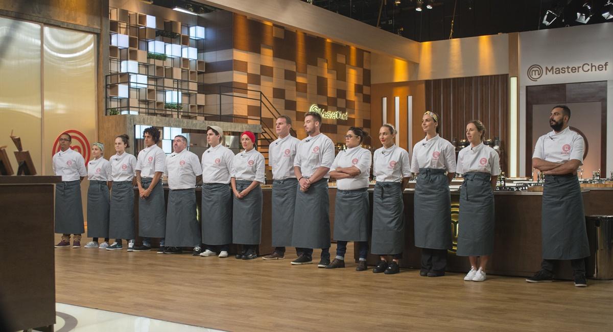 Participantes da primeira temporada do MasterChef Profissionais