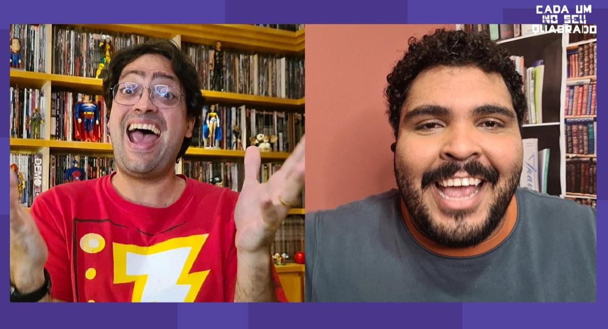 Fernando Caruso e Paulo Vieira estrelam Cada um no seu quadrado