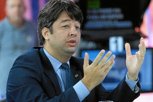 """""""O objetivo do estado não é contratar servidores, é servir à população"""", afirma Arnaldo Lima. Crédito: Luís Nova/Esp.CB/D.A. Press."""