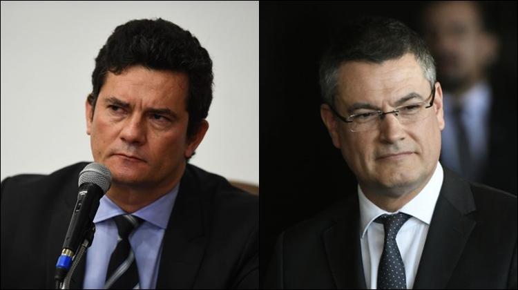 Sergio Moro e Maurício Valeixo