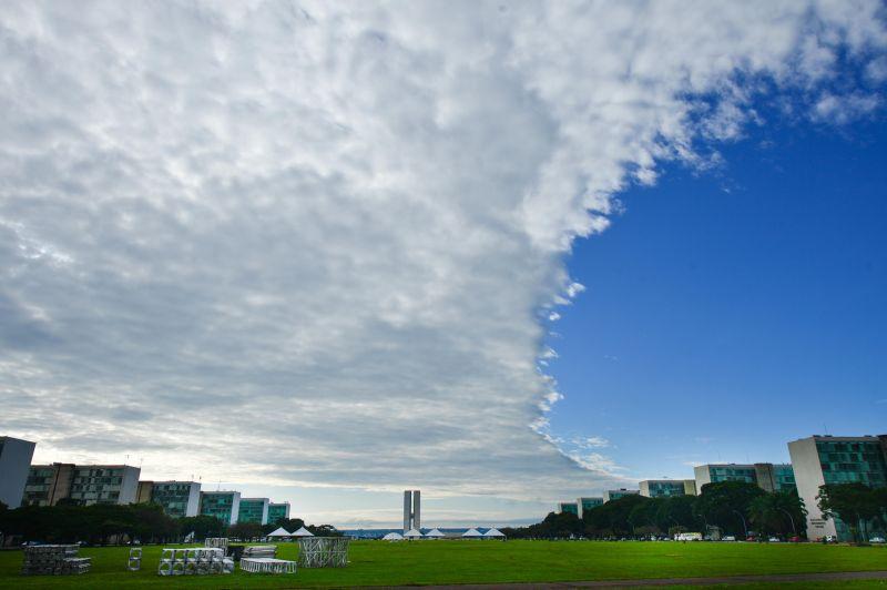 Céu de Brasília.