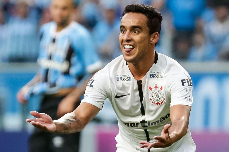 25/06/2017. Crédito: Rodrigo Gazzanel/Agência Corinthians. O jogador Jadson em lance de jogo entre Grêmio x Corinthians, pelo Campeonato Brasileiro.