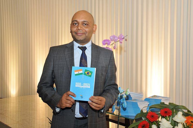 02/10/2017. Crédito: Edy Amaro/Esp. CB/D.A Press. Brasil. Brasília - DF. Abhay K., durante evento na embaixada da Índia.
