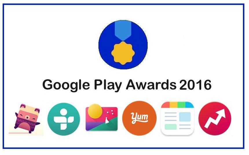 google play awards a premiacao dos aplicativos android 2016 tecnoveste