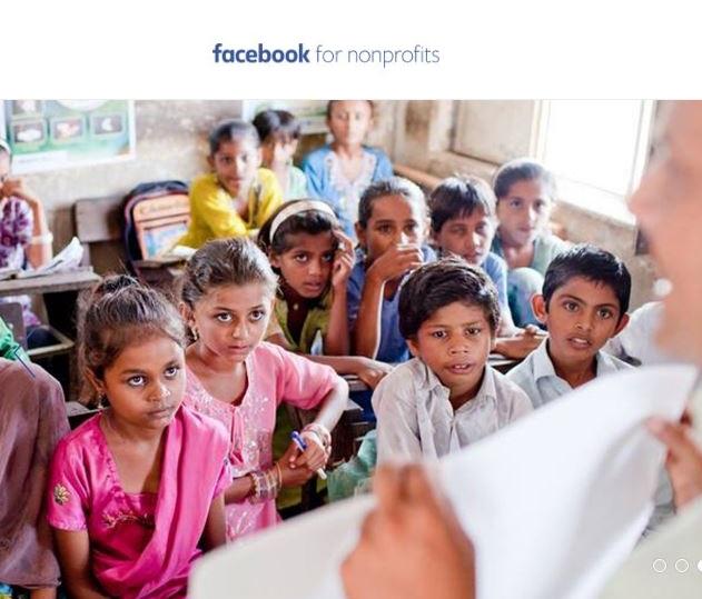facebook non profits ONG tecnoveste