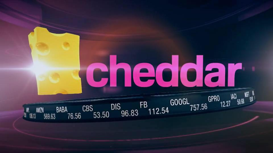 cheddar TV bolsa de valoes startups tecnoveste