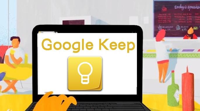 Google Keep uma maneira inteligente de treinar o seu assistente pessoal Google Now