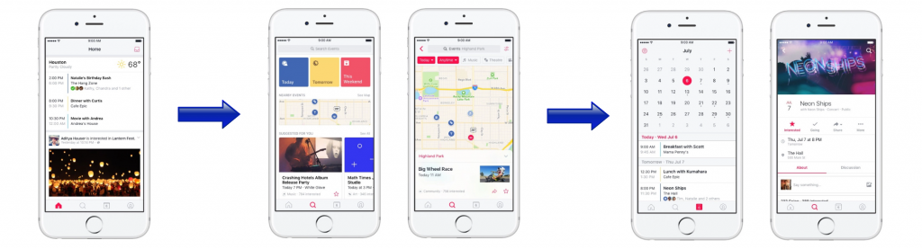 Como funciona o novo aplicativo de eventos do facebook tecnoveste