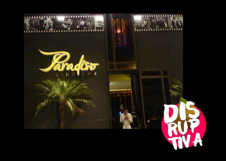 MeetUp 3B Startup Brasília no Paradiso Cine Bar disruptiva asteps tecnoveste