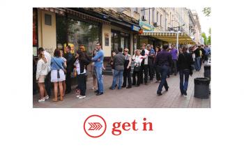 Get In App, organização e rapidez na Fila de Espera e nas Reservas de Bares e Restaurantes