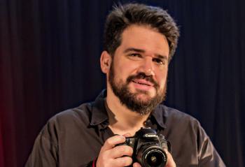 Entrevista com o ator e diretor Hugo Veiga sobre o Worshop de Comunicação para Youtubers na SnapShop