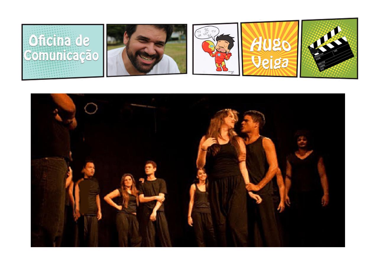Hugo Veiga apresenta Oficina de Atores para Youtubers Tecnoveste SnapShop d