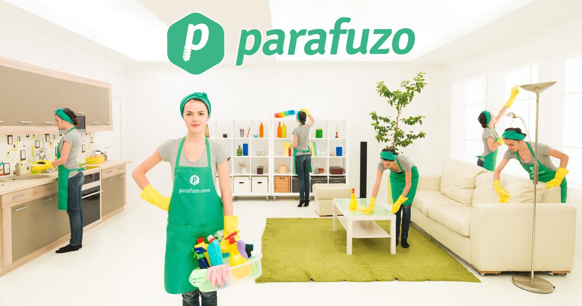 Parafuzo oferece serviços de limpeza doméstica de maneira rápida, barata e segura