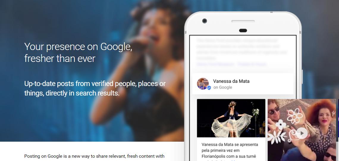 Google permite que celebridades falem diretamente com o público a partir dos resultados de busca