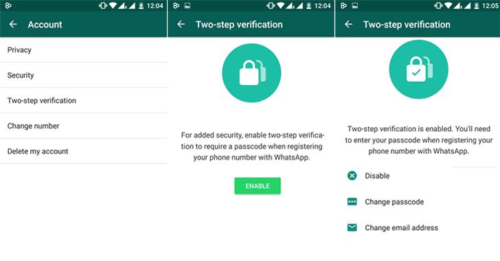 como colocar senha no whatsapp verificacao em dois passos tecnoveste