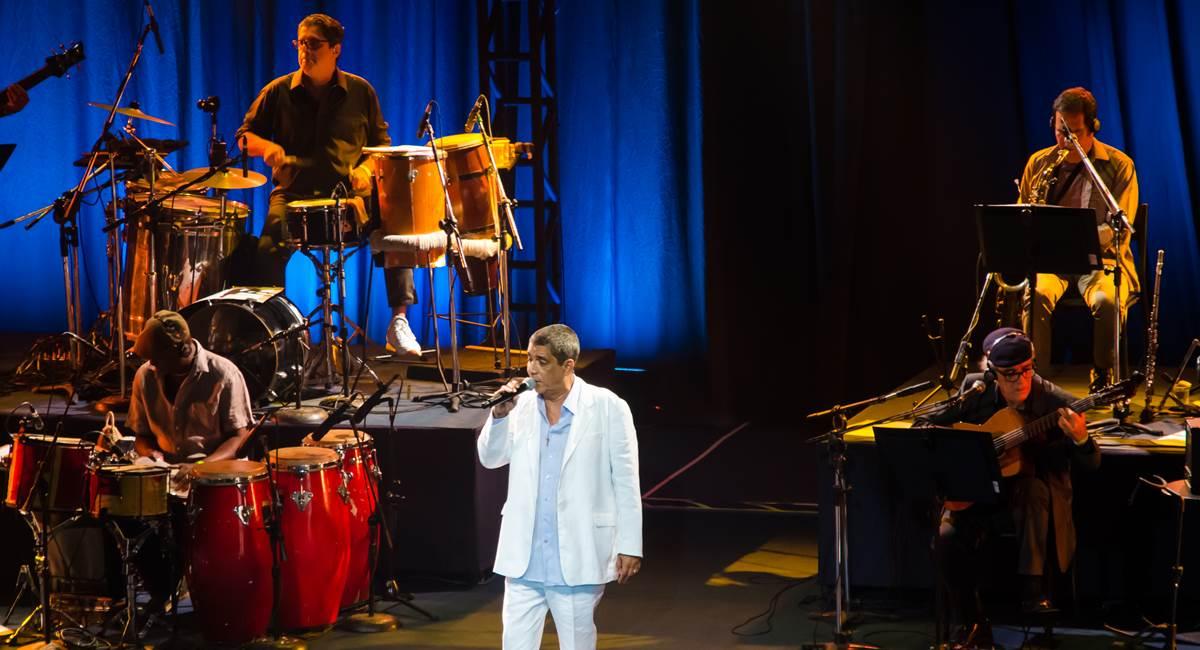 """Turnê """"De Santo Amaro a Xerém"""" - Km Vantagens Hall Rio (21/04/2018). Crédito: Gerlan Cidade/Divulgação"""