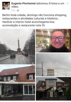 Vice-presidente dos Correios exalta a gastança em viagem