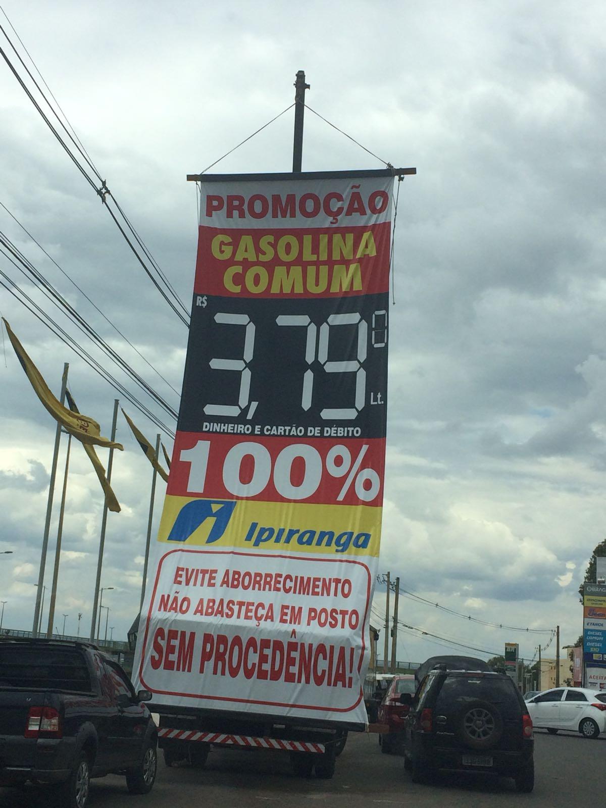Petrobras reajusta gasolina. Mas é possível pagar litro a R$ 3,79