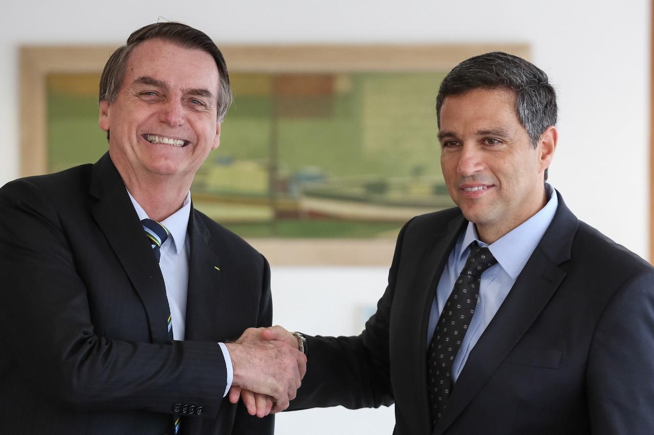 Bolsonaro e Roberto Campos Neto