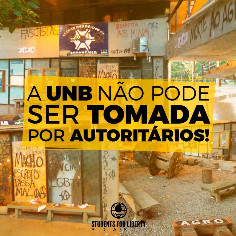Foto: facebook.com/studentsforlibertybrasil