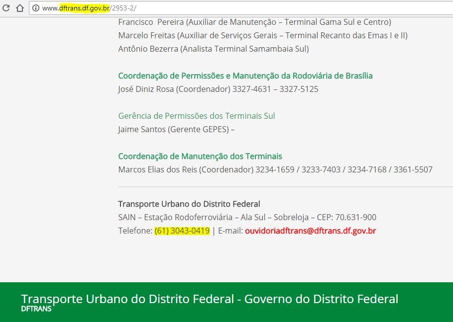 Imagem: dftrans.df.gov.br (captura de tela)