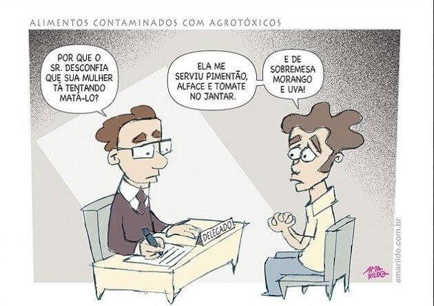 Charge de Amarildo