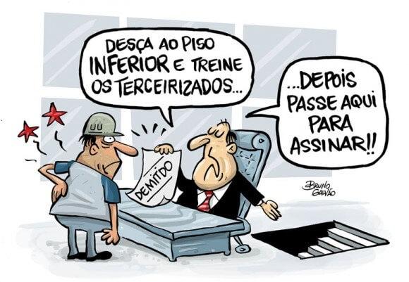 Charge: Bruno Galvão