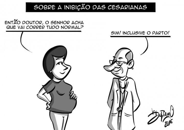 Charge do Juliano Henning