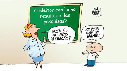 Charge do Ivan Cabral